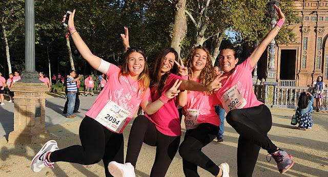 X carrera de la mujer Sevilla
