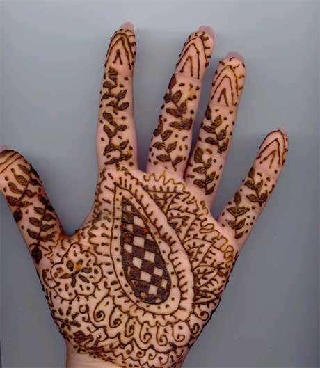 Mehndi Designs And S : Latest mehndi designs for hands beautiful