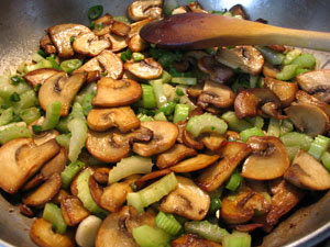 Pan-Fried Mushrooms