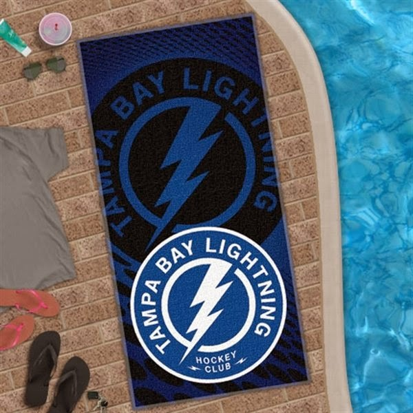 Tampa Bay Lightning NHL Beach Towel