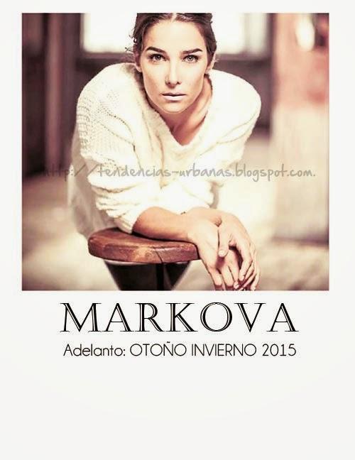 Juana Viale, en campaña para Markova coleccion otoño invierno 2015