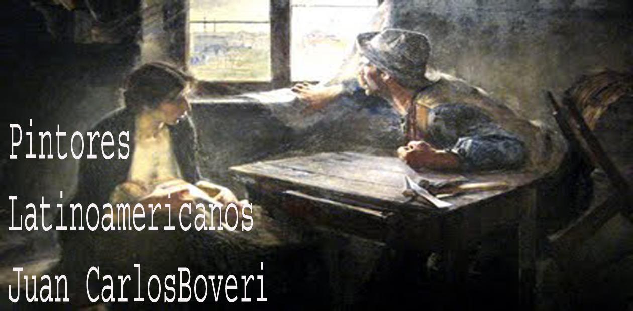 PINTORES LATINOAMERICANOS-JUAN CARLOS BOVERI