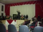 Pregando em Ceu Azul-PR Pastor Sadi Feraz