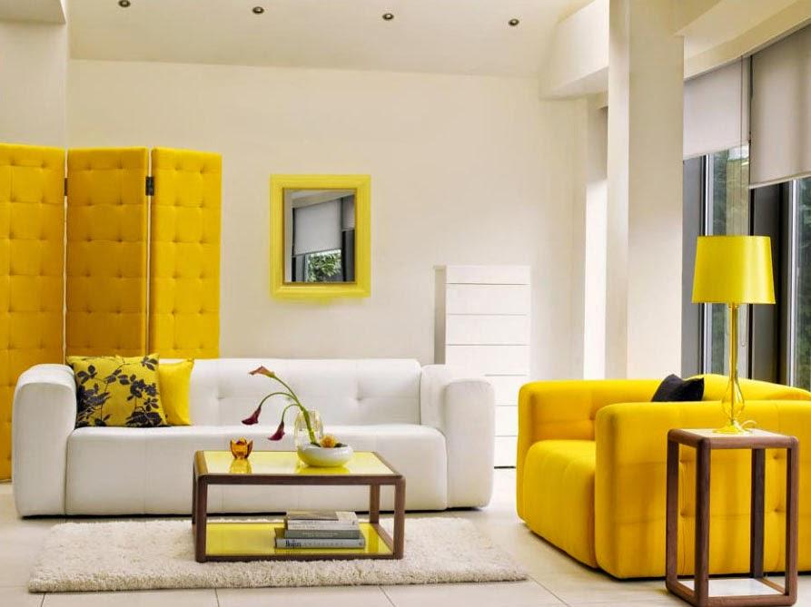 Warna dan cat ruang tamu 2