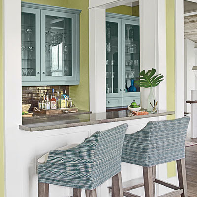 Coastal Living Showcase Home bar