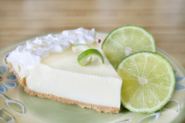 LOVE BEING A NONNY!: Key Lime Pie with Gingersnap/Coconut Crust!