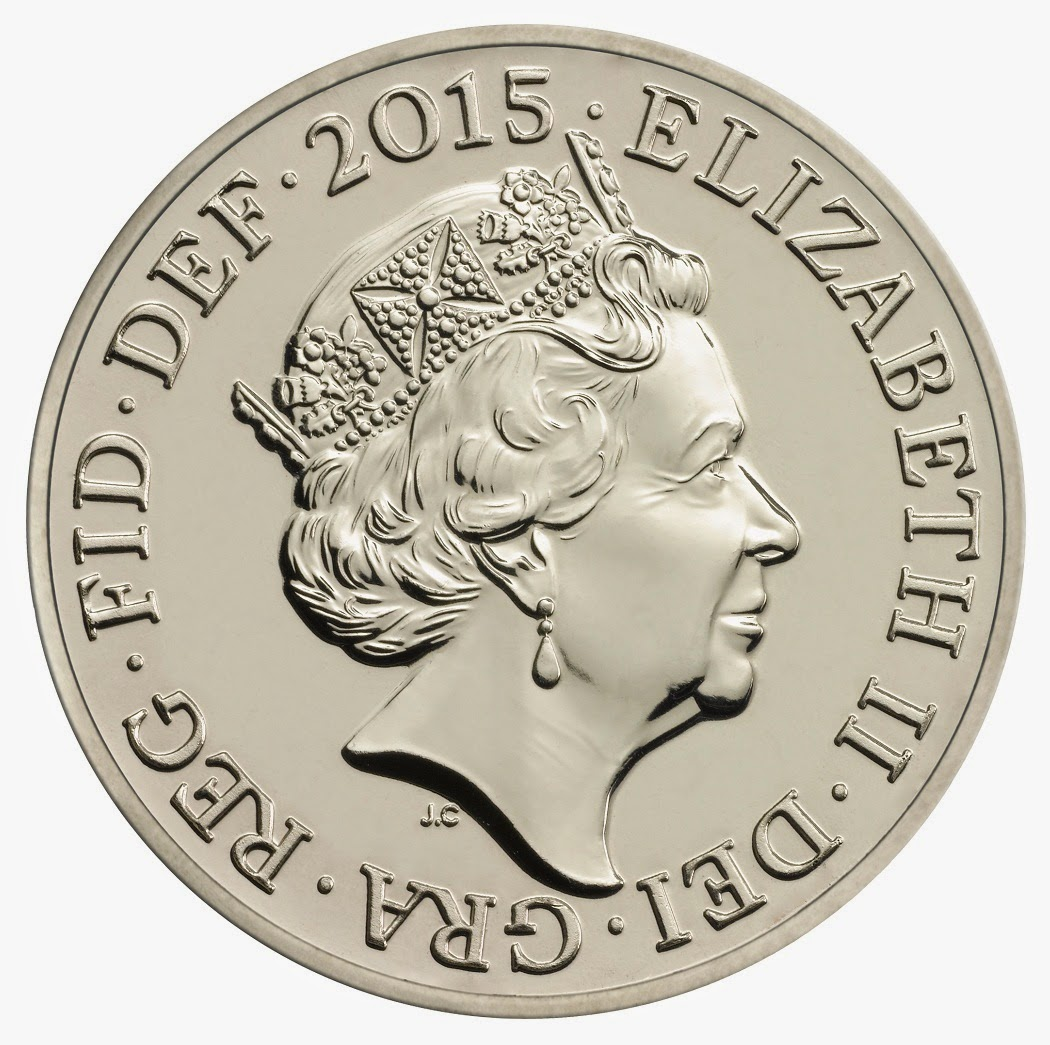 Queen Elizabeth II's fifth coin portrait