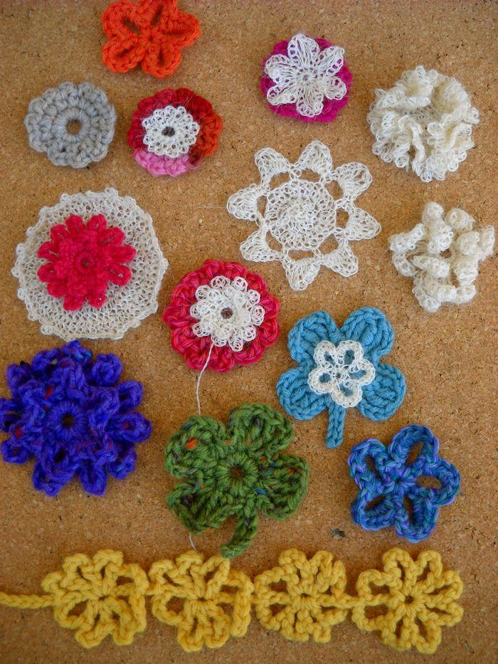 Crochet Pattern Central Flowers Dancox For