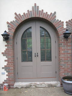 Custom, screen, doors, arched, huisman