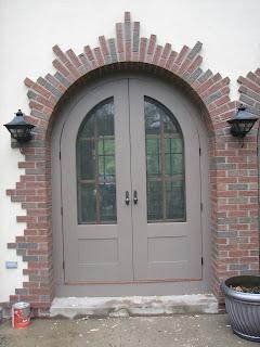 Custom, screen, doors, arched, huisman