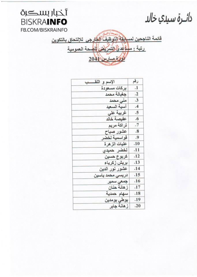 قائمة الناجحين في مسابقة الشبه الطبي لولاية بسكرة sidi+khaled.jpg