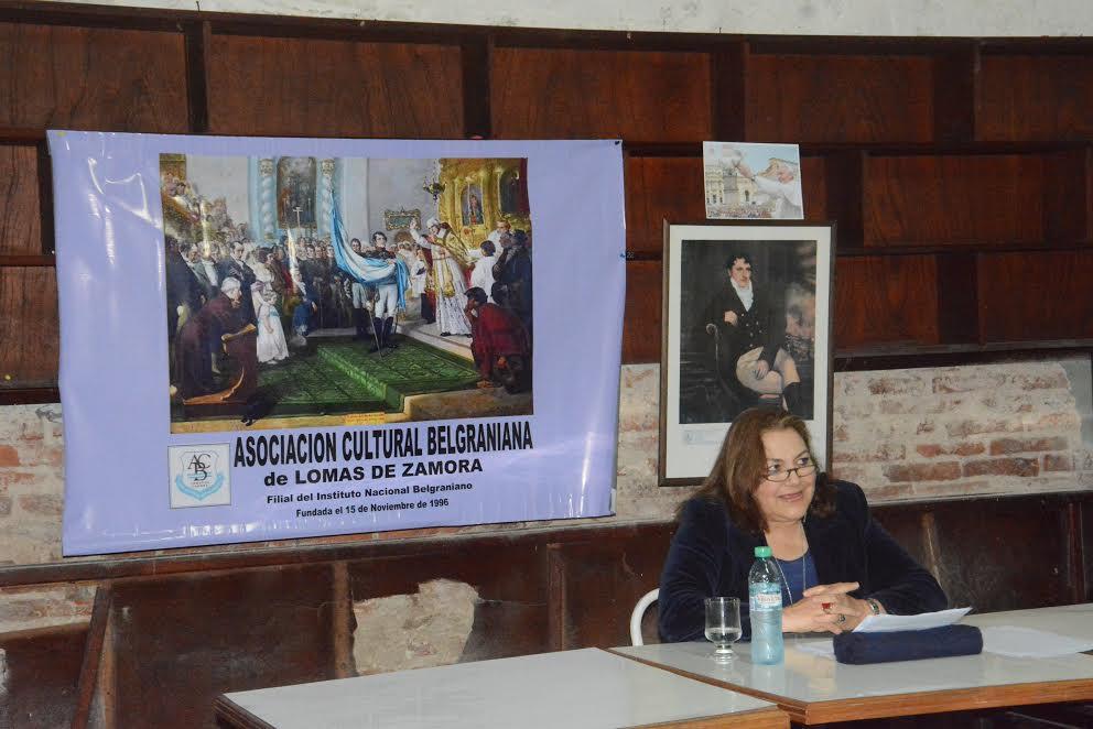 """.Conferencia: """"MANUEL BELGRANO, SU AUTOBIOGRAFÍA Y SU ÉPOCA"""" Club Buchardo (22/10/16)"""