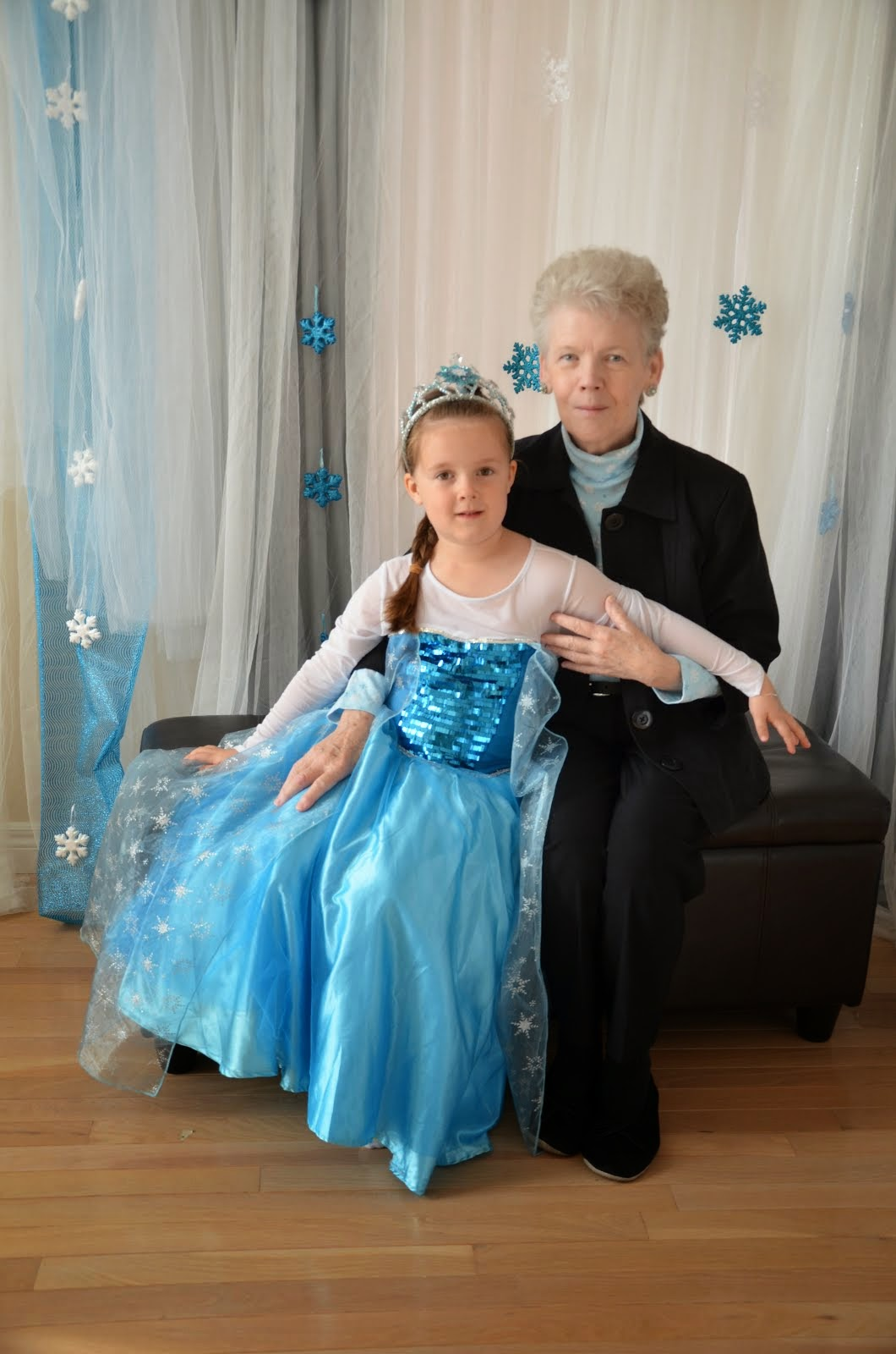 Princess ALYSSA (ELSA) on 5th birthday