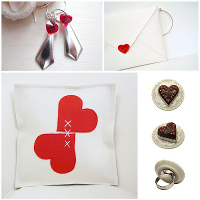 valentine, hearts, etsyitaliateam, italy, handmade