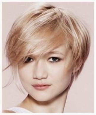 Model Rambut Untuk Wajah Bulat dan Rambut Tipis