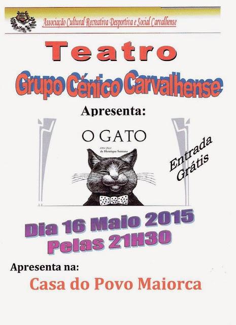 """Peça de Teatro """"O Gato"""""""