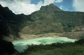 kawah gunung kelud dan buaya jelmaan bidadari