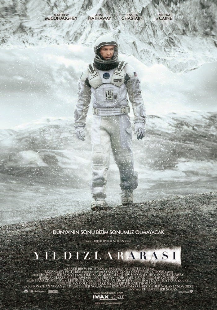 Yıldızlararası: Interstellar (2014) 720p Film indir