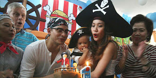 Gambar Birthday Party Noah Sinclair Anaknya Bunga Citra Lestari  Ashraf Sinclair
