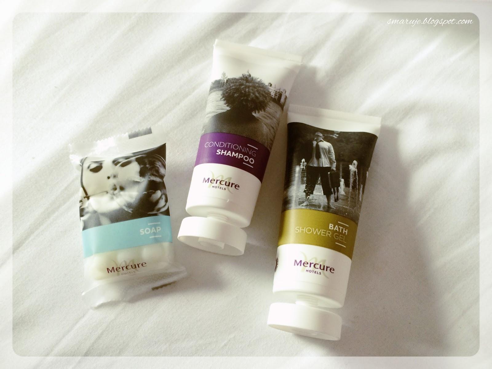 O naszym weekendzie i kosmetykach z hotelowej półki