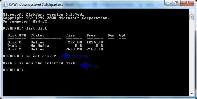 How to Create Bootable USB Windows 7