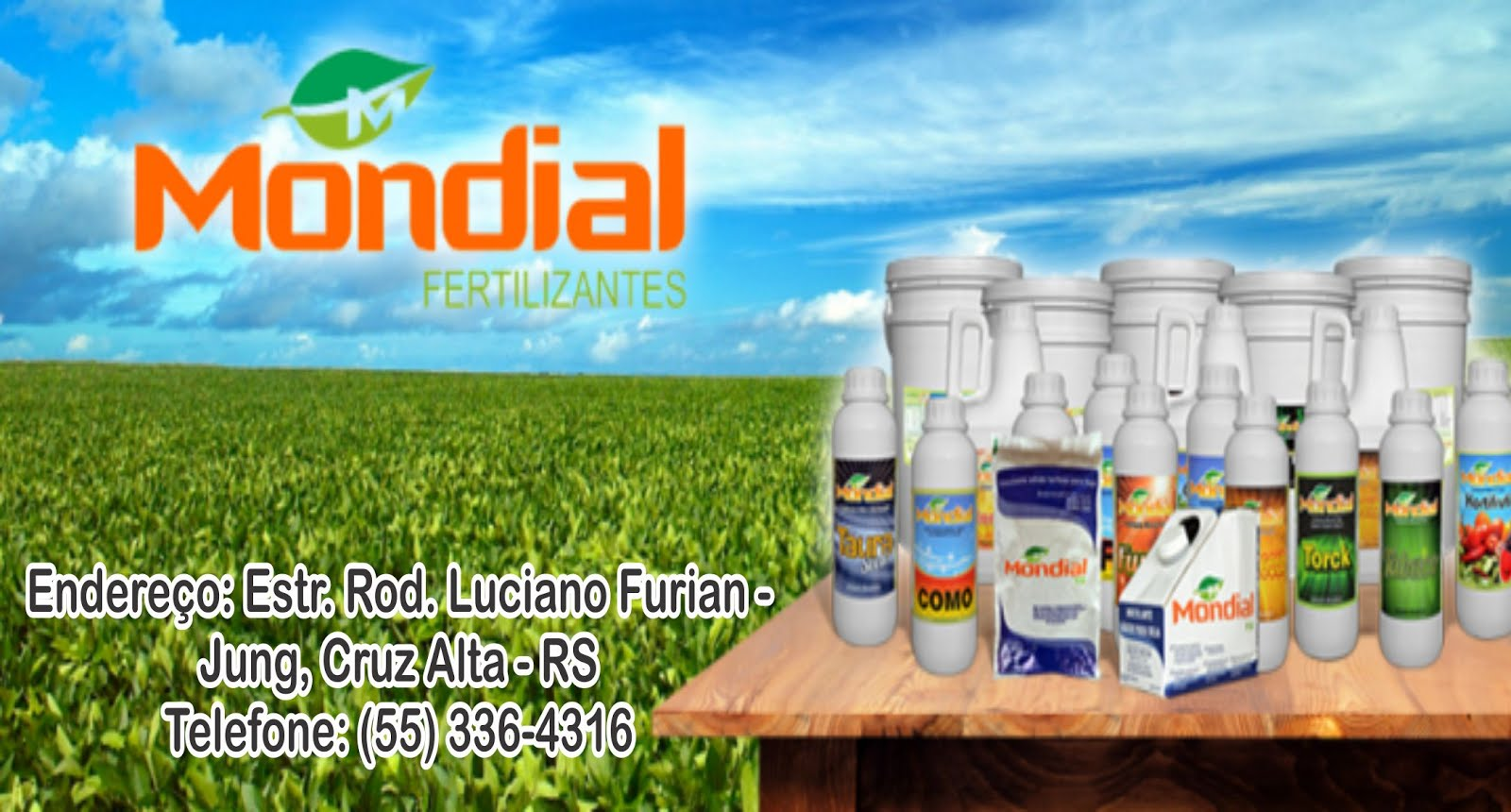 DISTRIBUIDOR DE FERTILIZANTES