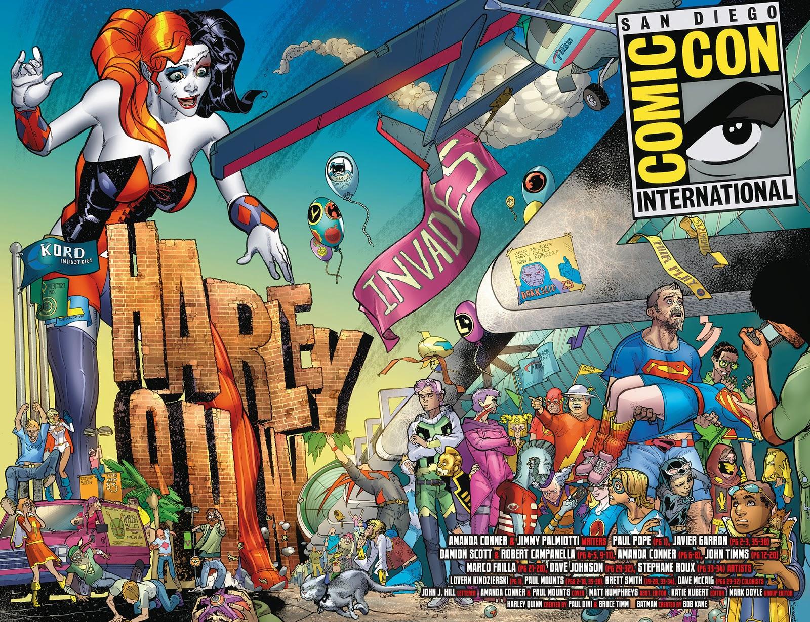 harley quinn invades comic con 001 2014 viewcomic reading comics