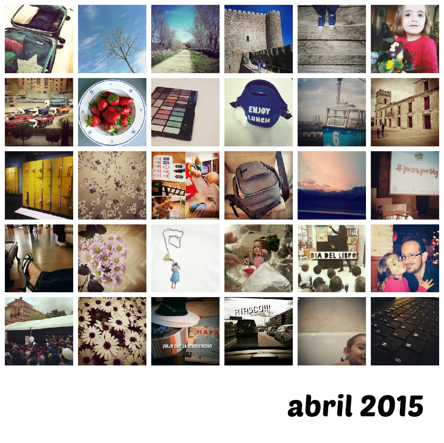 Abril 2015 en fotos