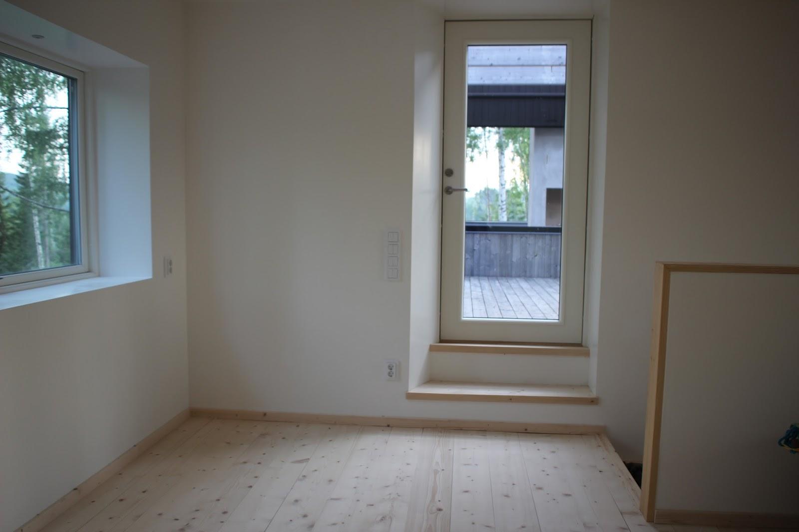 BopåHammarn: Övervåningen - precis innan inflyttning