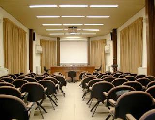 Aula posto di raduno e di ritrovo per importanti assemblee