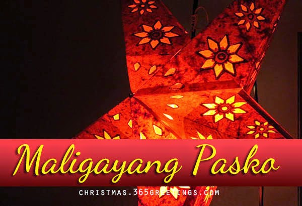 Merry christmas in tagalog merry christmas in filipino m4hsunfo