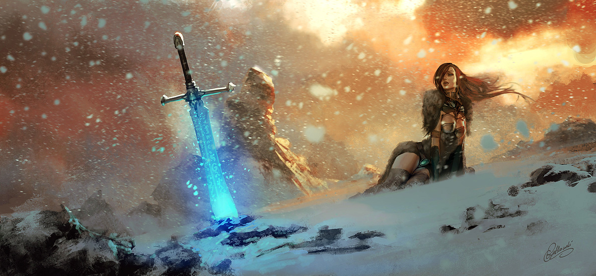 The Geeky Nerfherder Cool Art The Fantasy Art Of