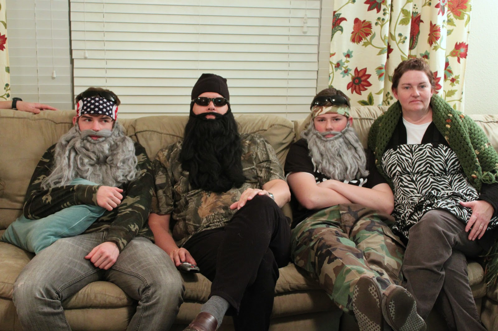Vacuuming in high heels & pearls: Duck Dynasty Party