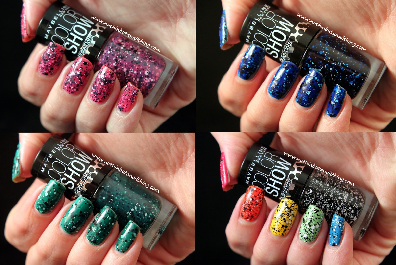 nuthin\' but a nail thing: Maybelline Color Show Polka Dots ...