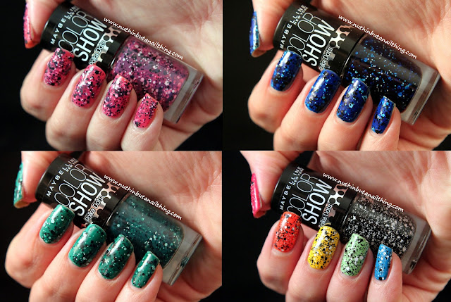 Maybelline Color Show Polka Dots Collection Swatches