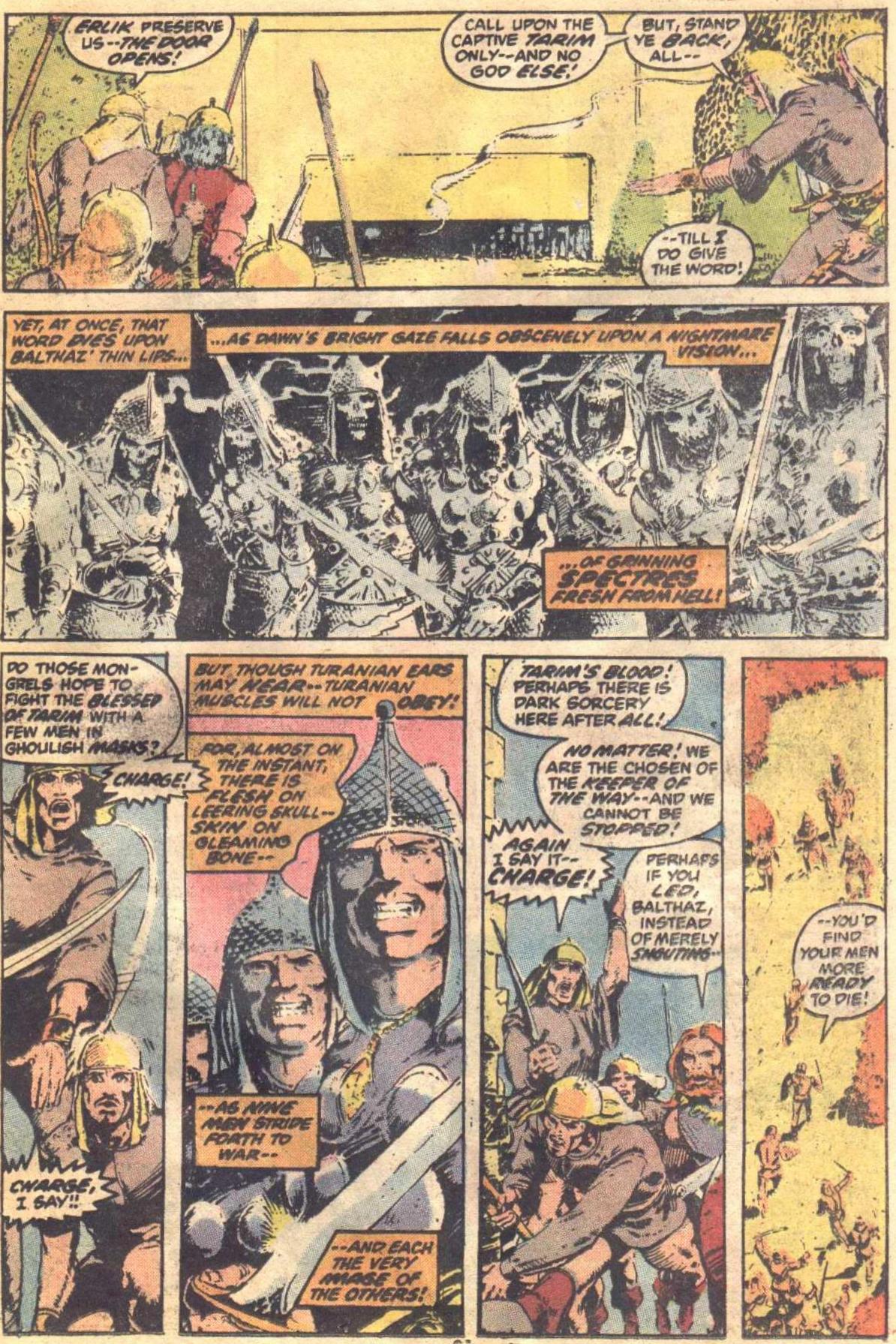 Conan the Barbarian (1970) Issue #19 #31 - English 16
