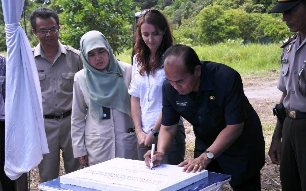 Sekda Ketapang Resmikan Pusat Penyelamatan dan Konservasi Orangutan