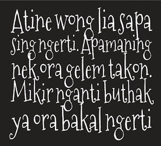 Kata Kata Jawa