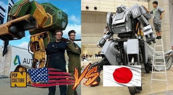 MegaBots Jepang Vs Amerika