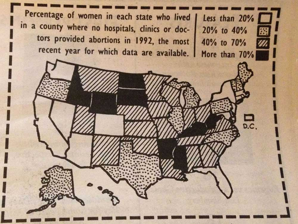 This Map From January 1995 Ilrates 1992 Data Check Out Texas Despite Its Large Size And Ruralness It Was Then One Of The States Where Only 20 To 40