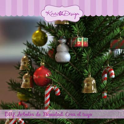 arboles navidad diy