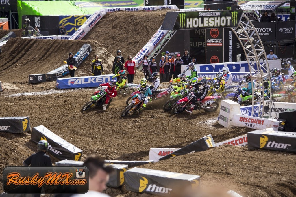 450 Heat 2 Start Metlife SX 2015