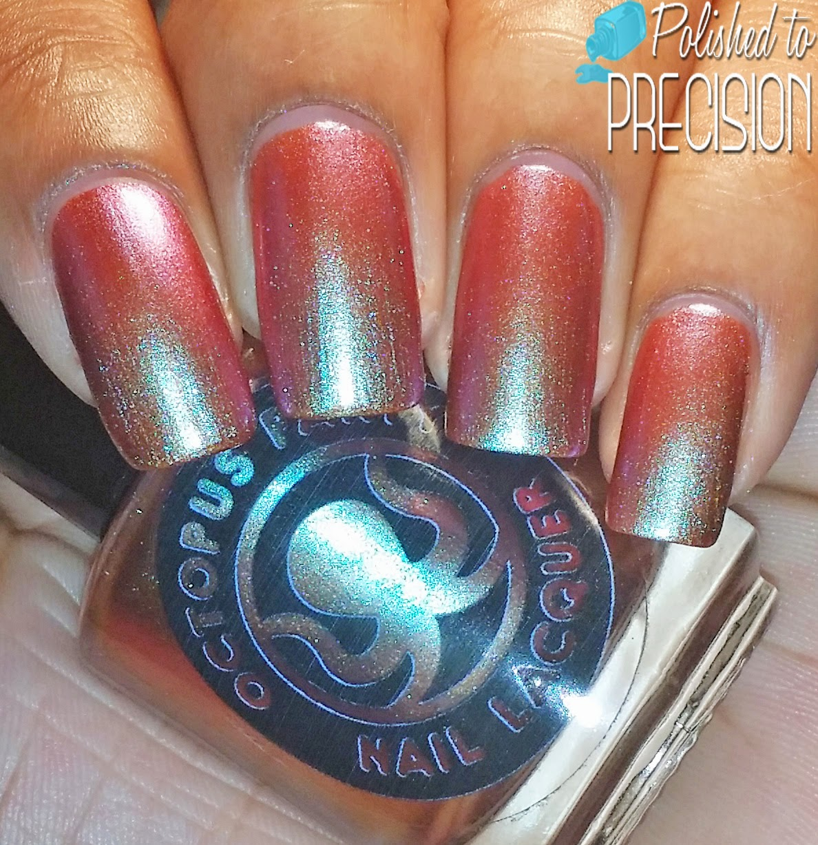 Octopus Party Nail Lacquer Shore Fire