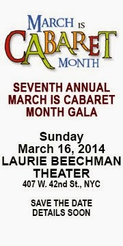 MARCH IS CABARET MONTH