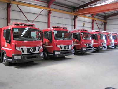 Το Πυροσβεστικό Σώμα ενισχύει τις δυνάμεις του και στα Επτάνησα με Nissan ATLEON NT500 Euro 6