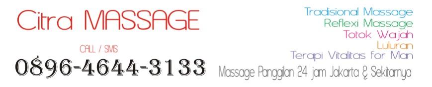 Citra Massage Panggilan Jakarta