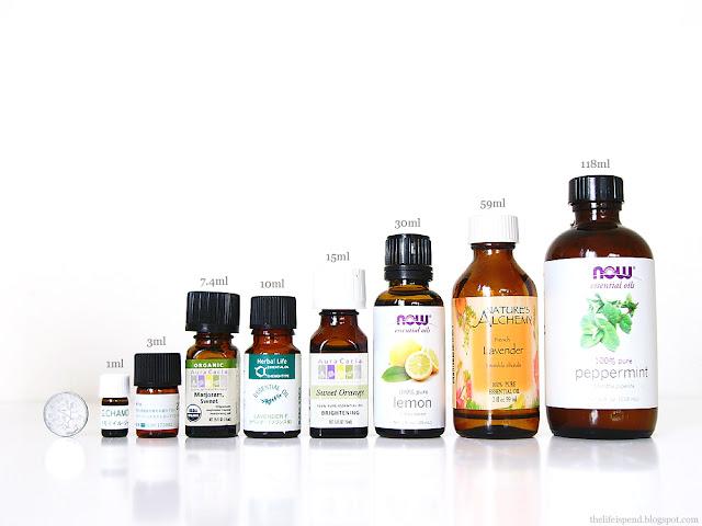 精油サイズ essential oils bottle size