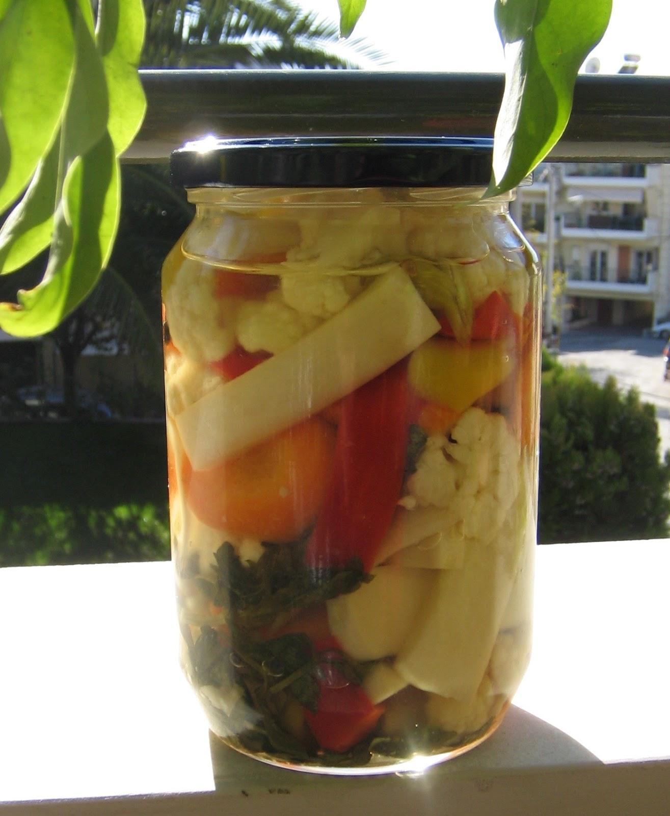 Τουρσί Λαχανικών Ανάμεικτο