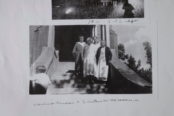Annie Hansen Davidson & 3 sisters