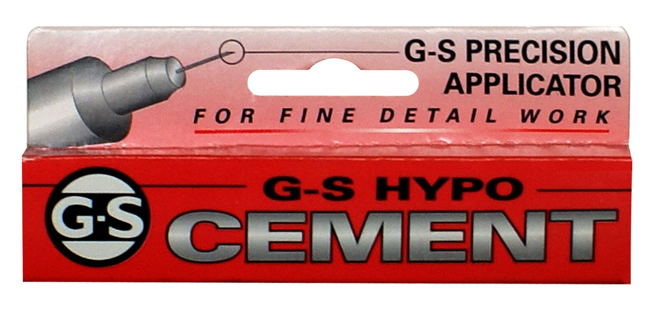 G-S Hypo Cement (glue) - Pepperell Braiding Company